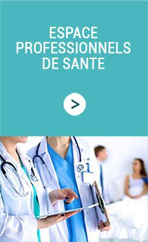 Espace professionnels de santé