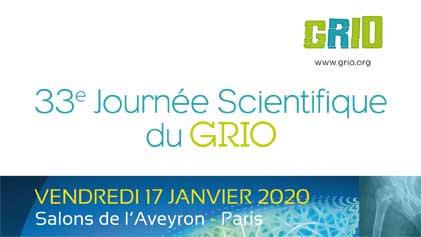 13ème Journée scientifique du GRIO