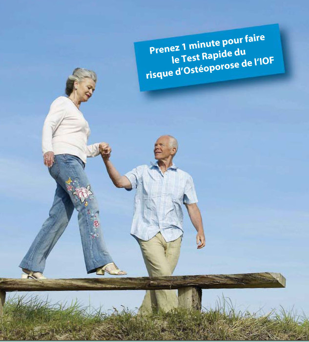 Courez-vous un risque d'ostéoporose ?